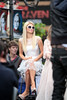 "Paris Hilton The Hilton family appear on the entertainment news show 'Extra' at The Grove, to launch Kathy Hiltons new fashion line ""The Kathy Hilton collection"" Los Angeles, California"