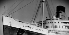 queen mary_3 (Nader Modabber) Tags: blackandwhite film photoshop 35mm vintage queenmary nikonf2 modabber nadermodabber
