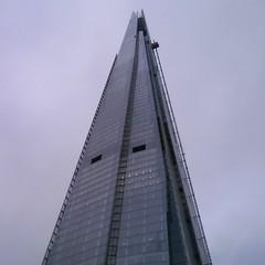 Ku Klux Shard! (C_Oliver) Tags: england london tower skyscraper pyramid shard renzopiano kukluxklan eyeholes shardofglass theshard shardtower