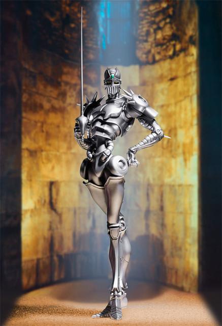 雕像傳說—JOJO冒險野郎第三部:銀色戰車登場!