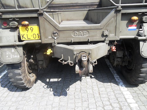 The business end of a DAF YA-328 Artillery tractor
