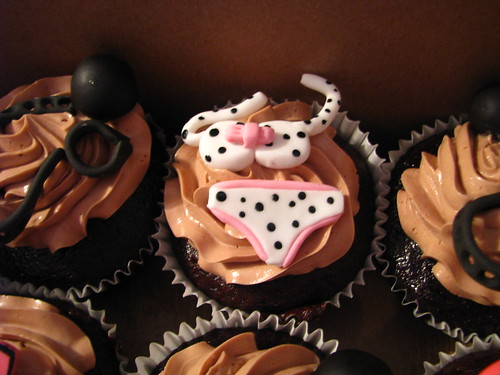 Stagette cupcakes