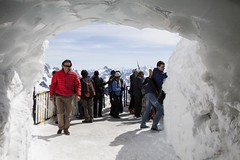 One of the Viewing points (Bill Davies (SA)) Tags: travel snow france mountains alps montblanc aiguilledumidi charmonix rhnealpes aiguillesrouges