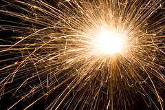 Sparkler (Kenneth Keifer) Tags: longexposure light party white hot yellow night dark shower gold darkness bright fireworks 4th july newyear burning burn heat fourthofjuly independenceday sparkler sparks particles julyfourth gunpowder ignition whitehot pyrotechnic clelbration