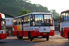 1704 in the Sunset (raptor_031) Tags: bus buses leaf spring nissan suspension diesel philippines transport victory works motor santarosa operation sr inc provincial liner 1704 akr cpb87n fe6b