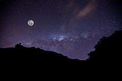 Beneath our Southern Skies (Xenedis) Tags: astronomy kiamadowns galaxy milkyway moon sky stars newsouthwales nsw australia illawarra southcoast fh ig