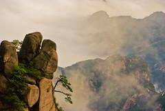 China, Yellow mountain during sunrise (KAM0S) Tags: china shanghai guilin yangshuo beijing hangzhou greatwall yellowmountain pingan
