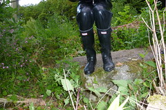 Hunter wellies (lulax40) Tags: fetish rubber latex wellies rubberboots gummistiefel latexpants rubberist hunterboots rubbergear latexhose gummikleidung gummimann