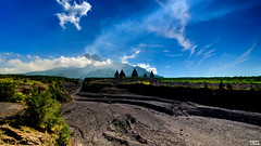 The lost temple - D800 - Explored (Teo Morabito) Tags: temple volcano merapi prambanan yogjakarta