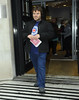 Jack Black leaving the BBC Radio 2 studios London, England