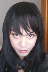 : ) (NM.San) Tags: boy black cute dark scary cd gothic goth lolita egl crossdress crossplay mrnightmare