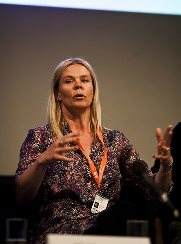 Helle Faber at the Danish Documentary Focus Event