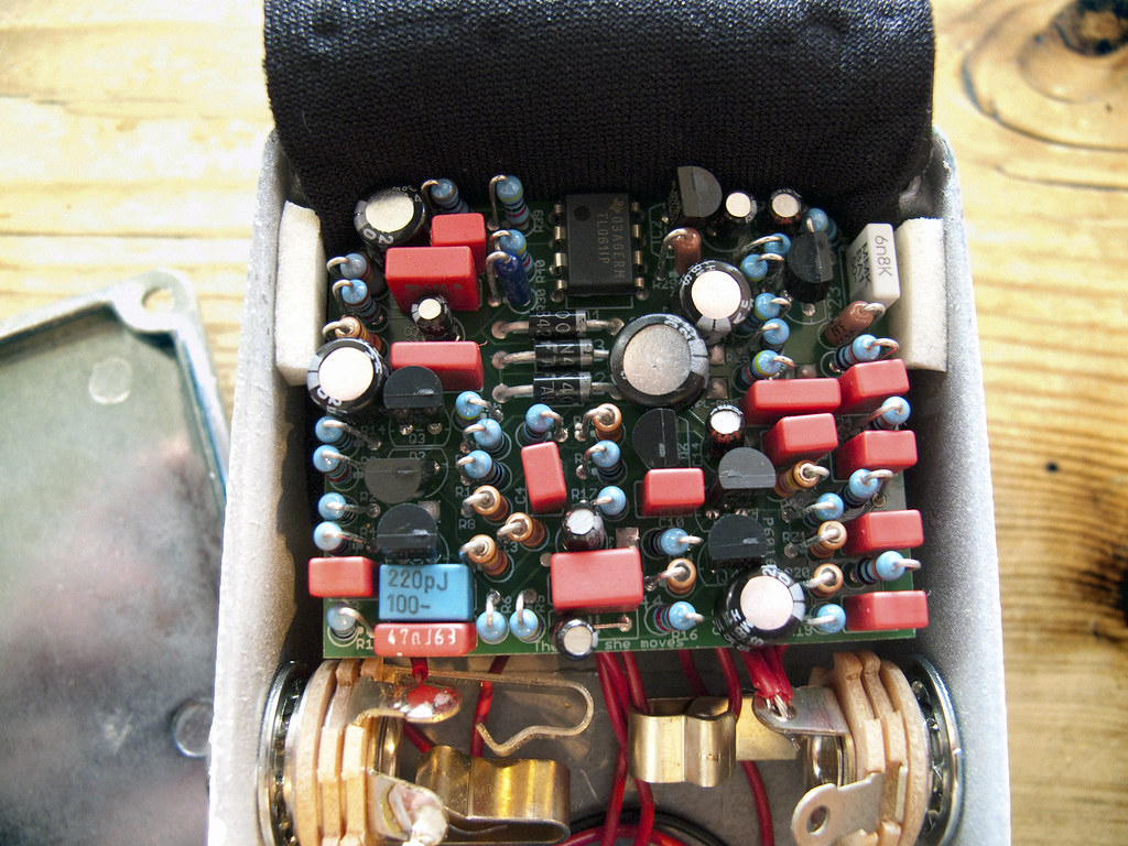 The Worlds Best Photos Of Chorus And Pedal Flickr Hive Mind Univibe Wiring Diagram Bearfoot Mint Green Mini Vibe Internals Terekhova Tags Board Leslie Fx Effect