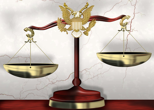 From flickr.com: Scales of Justice {MID-135522}
