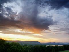 Vanderbilt Sunset DSC03555adj (ftoomschb) Tags: sunset sky ny colors clouds river landscape estate sony vanderbilt valley hydepark hudson alpha dslr a700