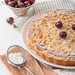 Crunchy Tart with Pistachios, Almonds and Cherries