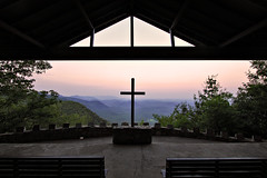 Pretty Place Chapel (Seth Berry Photography) Tags: sunset camp mountains church photography seth berry pretty place cross outdoor southcarolina northcarolina chapel christian ymca greenville prettyplacechapel sethberryphotography