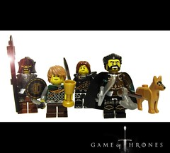 "Game of Thrones ""Winter is Coming"" (felt_tip_felon) Tags: toys tv lego series winteriscoming gameofthrones"
