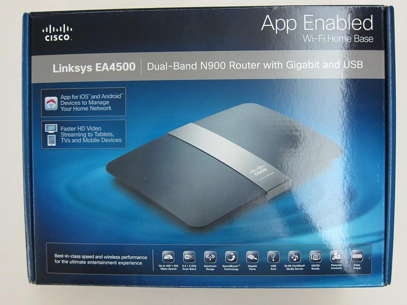 Cisco linksys ea4500 router default password