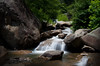 water idyll (desertdragon) Tags: soldier waterfall asheville greenriver explored naturepoetry