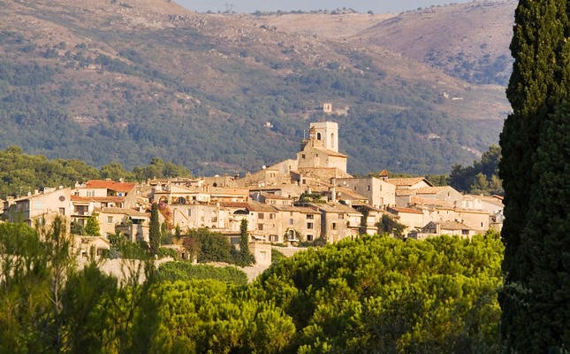 Saint-Paul or Saint-Paul de Vence is a classic medieval hilltop village in the Alpes-Maritimes department on the Cote d'Azur in south-eastern France near Nice.