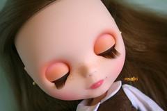 Lily's eyelids :)