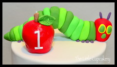 The Very Hungry Caterpillar Cake 1 (Klaire with a Cake) Tags: birthday cake little caterpillar hungry tlc the cupcakery klairescupcakes