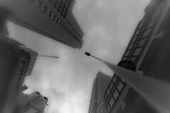 Einstrzende Neubauten #3 (Profond Dment (pas trop l)) Tags: sky urban blackandwhite paris concrete nikon raw noiretblanc towers ciel works tours 75015 travaux urbain grues d700