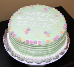 Rainbow Cake by a volunteer from Birthday Cakes 4 Free, Stockton