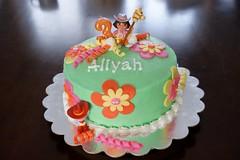 Dora Cake by Heidi E, Twin Cities, MN, www.birthdaycakes4free.com