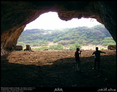 Inside a Cave in Shihait, Taqah, Dhofar (Shanfari.net) Tags: nature season lumix raw natural panasonic oman fz zufar rw2 salalah sultanate dhofar  khareef    dufar      dhufar governorate dofar fz38 fz35 dmcfz35