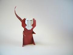 Monkey - Jo Nakashima (Rui.Roda) Tags: origami papiroflexia papierfalten mono macaco singe chimpanz chimpanzee monkey jo nakashima