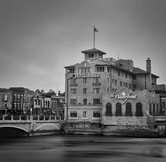 Baker Hotel - monochrome (Frank Cardoze) Tags: baker hotel fuji neopan across 100 stcharles illinois