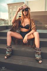 Irati (rubenfcid) Tags: model bikini swimwear swimmingpool pool body bodyswim sensual summer sun sunny blondgirl blondie blond blonde pretty beauty beautiful cute airelibre gente tanned tan sexy fashion beachwrap cowgirl hat sunglasses
