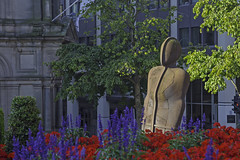 20160815_Iron:Man in colour (Damien Walmsley) Tags: victoriasquare birmingham red blue ironman anthonygormley sculpture