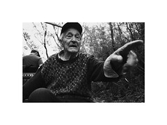 there (Marek Pupk) Tags: central europe slovakia monochrome blackandwhite bw canon analog film a2 documentary old man