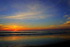 NSB Sunrise (8/21/2016) (TaranRampersad) Tags: sunrise nsb newsmyrnabeach florida sunset sun outdoors outside seaside oceanside sky reflection