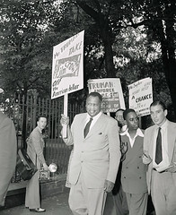 Paul Robeson joins Bureau of Engraving fight: 1949 (washington_area_spark) Tags: bureau engraving plate printers us printing discrimination segregation jim crow skilled jobs assistants helpers civil rights protest demonstration picket rally speeches job employment margaret gilmore united public workers america local 3 upwa washington dc white house 1949