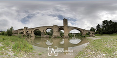 Besal (Albert Aumatell Fotografia) Tags: besal pont natura paisatge romanic