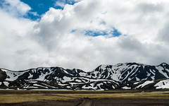 Hiking Mountains (E.Clerc) Tags: iceland mountains snow beautiful roadtrip nature wild hiking landscape road