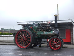 Popping In For A Service (Katie_Russell) Tags: ni nireland ireland northernireland ulster norniron garvagh show clydesdale coderry colderry colondonderry countyderry countylderry countylondonderry car cars vintage vehicle vehicles steam engine