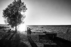 Before Sunset (monochrome) (macplatti) Tags: hchst vorarlberg austria aut sunset rohrspitz