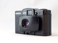 Cosina CX-1 12 () Tags: cosina lomo lomography purple zone focus black plastic japan vintage retro classic 35mm film camera
