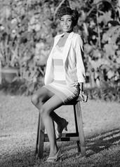 Kiera (02_0142BW) (ronnie.savoie) Tags: africanamerican black noir negra woman mujer chica muchacha girl pretty guapa lovely hermosa browneyes ojosnegros brownskin pielcanela portrait retrato model modelo modle smile sonrisa gonzales louisiana diaspora africandiaspora
