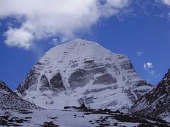 The north face of Mount Kailash, Tibet (6,714m) (Mumbles Head) Tags: kailash tibet mountains himalaya buddhism jainism hinduism northface