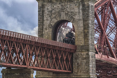 LMS Royal Scot 46100 Crossing Forth Bridge (Colin Myers Photography) Tags: lmsroyalscot royalscotsman royalscot46100 steamengine steamtrain steamlocomotive forthbridge lms royal scot 46100 crossing forth bridge steam train locomotive loco old rail way railway firth firthofforth colinmyersphotography colin myers photography wwwcolinmyerscom