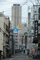 osaka884 (tanayan) Tags: urban town cityscape osaka japan nihonbashi    nikon j1 road street alley