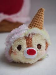 Ice Cream Tsum Tsum Set - Chap Front (sh0pi) Tags: ice cream tsum set disney disneystore disneystorecojp japan donald daisy duck chip chap dale eiscreme eis tsums stackable plush plsch plschtier beanbag beanie beanies stapelbar may mai 2016