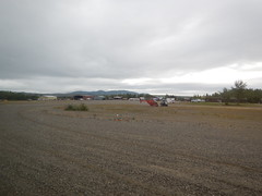 Bettles airstrip -- that's actually pretty much all of Bettles!