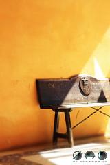 bask in the Light (JAD modern Photography) Tags: real alcazar seville spain spanish palace moorish chair light beautiful